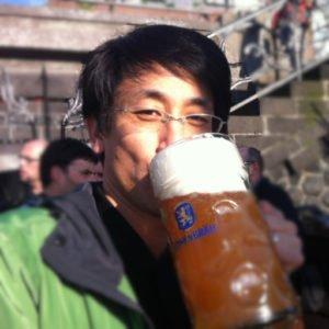 shinビールを飲むプロフィール